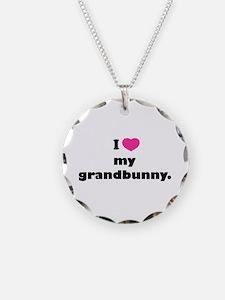 I love my grandbunny. Necklace