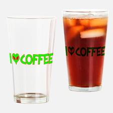 I Love-Alien Coffee Pint Glass