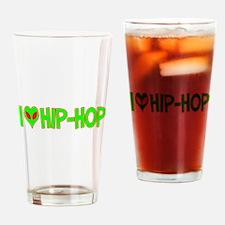I Love-Alien Hip-Hop Pint Glass