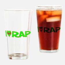 I Love-Alien Rap Pint Glass