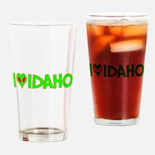 I Love-Alien Idaho Pint Glass