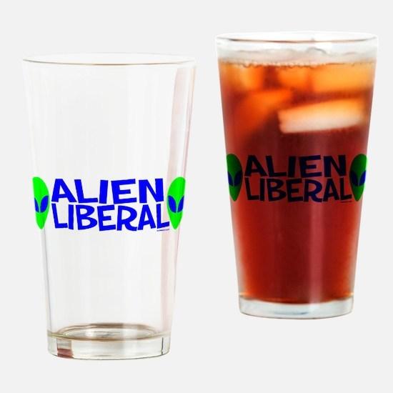 Alien Liberal Pint Glass