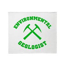 Environmental Geologist Throw Blanket