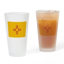 New Mexico State Flag Pint Glass