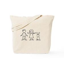 1 bunny family Tote Bag