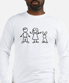 1 bunny family Long Sleeve T-Shirt