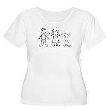 1 bunny family T-Shirt