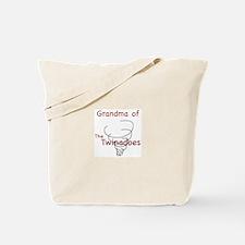Grandma of Twinadoes Tote Bag
