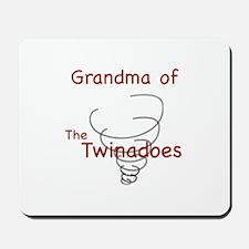 Grandma of Twinadoes Mousepad