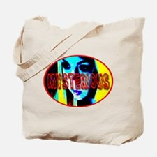 Mysterious Girl Tote Bag