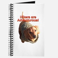 Hikers are Adventurous Dachshund Dogs Journal