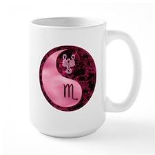 Pink Yin Yang Scorpro Mugs