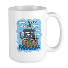 Pirate Ship Mug