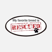 My Favorite Breed Is Rescued Patches