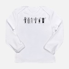 Group of Petroglyph Peoples Long Sleeve Infant T-S