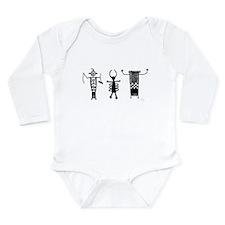 Petroglyph Peoples II Long Sleeve Infant Bodysuit