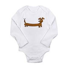 Dachshund - DoxieS Long Sleeve Infant Bodysuit