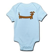 Dachshund - DoxieS Infant Bodysuit