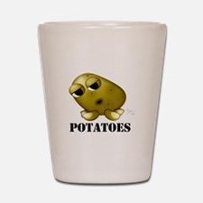 Potato Head with Toes Shot Glass