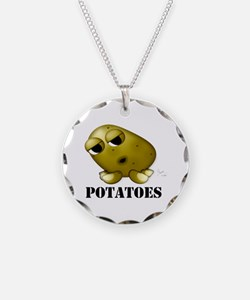 Potato Head with Toes Necklace