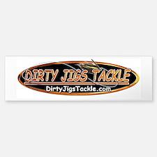 Dirty Jigs Tackle Bumper Bumper Bumper Sticker