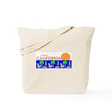 Cute Carmel beach Tote Bag