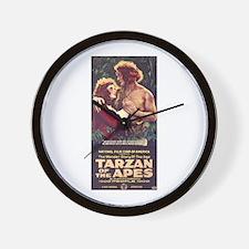 Tarzan Of The Apes Wall Clock