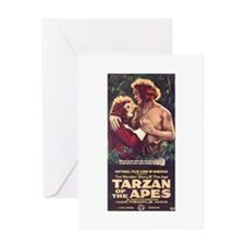 Tarzan Of The Apes Greeting Card