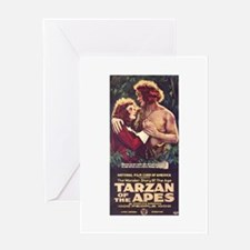 Tarzan Of The Apes Greeting Card