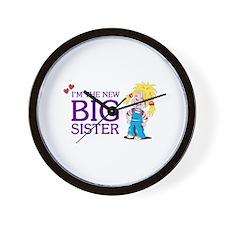 I'm the New Big Sister Wall Clock