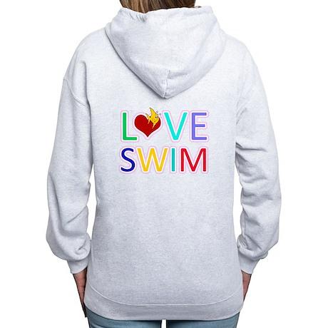 LOVE SWIM Women's Zip Hoodie