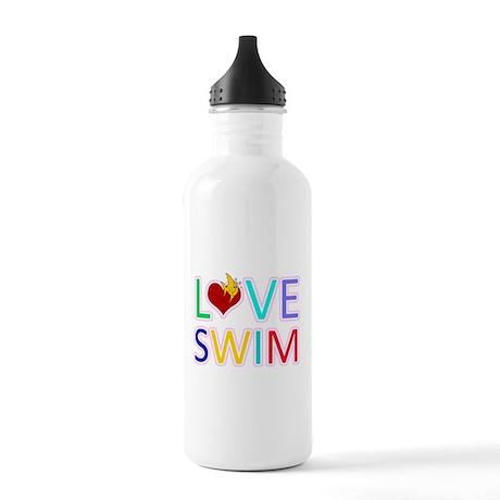 LOVE SWIM Stainless Water Bottle 1.0L