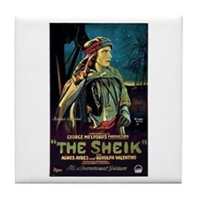 The Sheik Tile Coaster