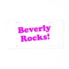 Cute Rock the vote Aluminum License Plate
