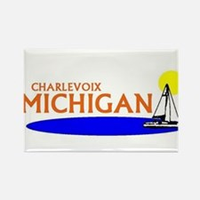 Cool Up north michigan Rectangle Magnet