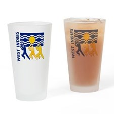 West Indies Cricket Pint Glass