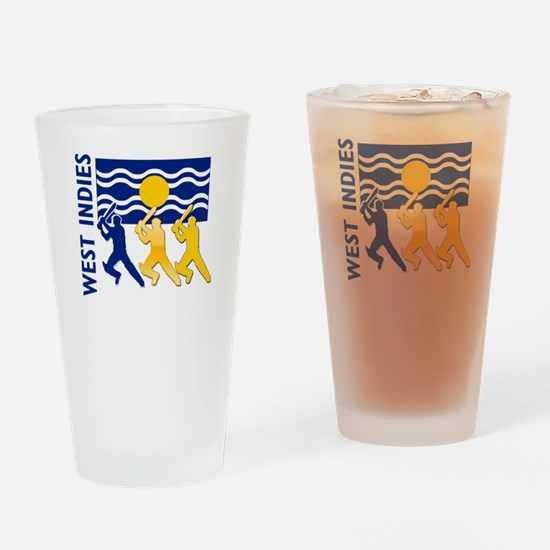 West Indies Cricket Pint Glass