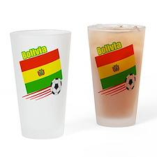 Bolivia Soccer Team Pint Glass