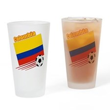 Colombia Soccer Team Pint Glass