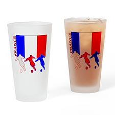 Soccer France Pint Glass