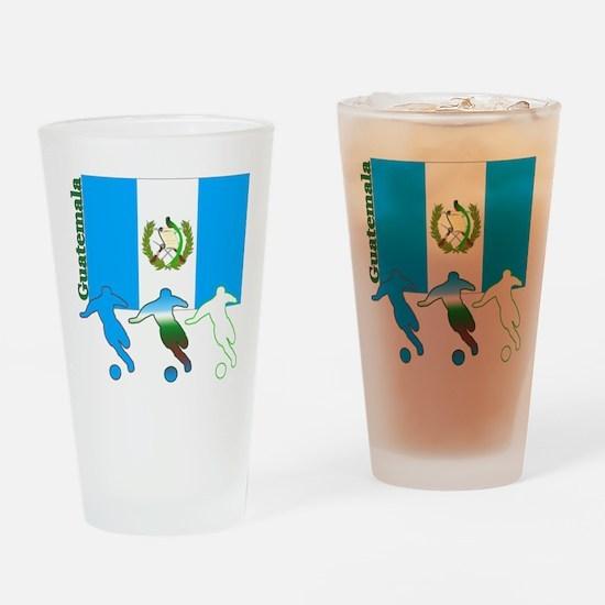 Guatemala Soccer Pint Glass