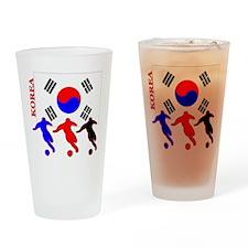 Korea Soccer Pint Glass