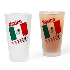 Mexico Soccer Team Pint Glass