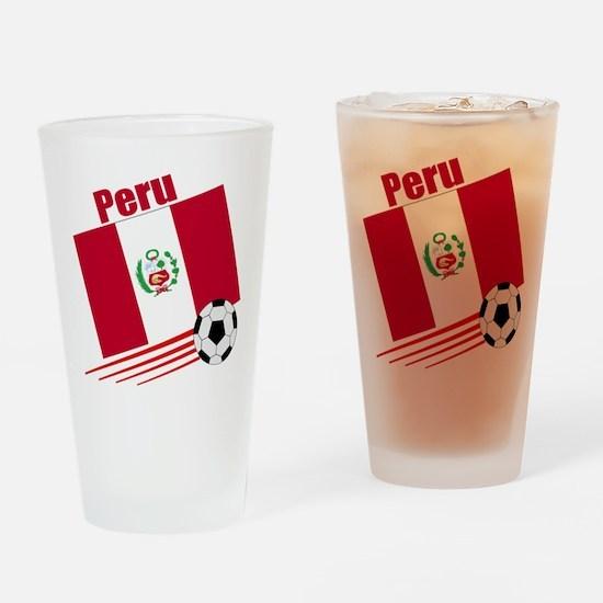 Peru Soccer Team Pint Glass