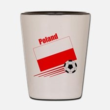 Poland Soccer Team Shot Glass