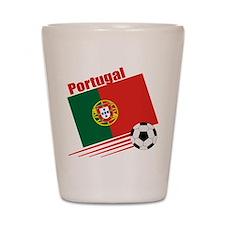 Portugal Soccer Team Shot Glass