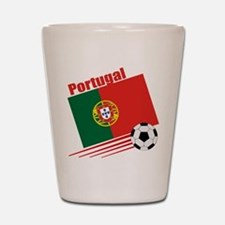 Portugal Soccer Team Shot Glass