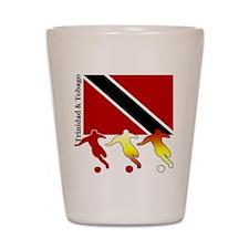 Trinidad Soccer Shot Glass