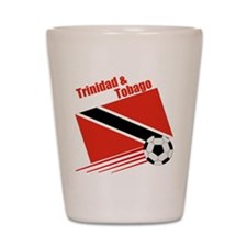 Trinidad Soccer Team Shot Glass