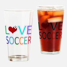 LOVE SOCCER Pint Glass
